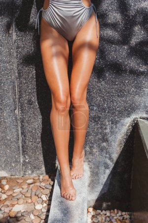 tanned legs