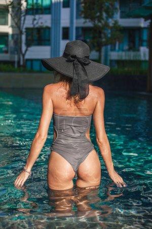 wet swimsuit