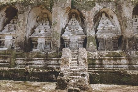 Photo for Scenic view of beautiful ancient Temple Complex and Royal Tombs architecture, Bali, Indonesia - Royalty Free Image