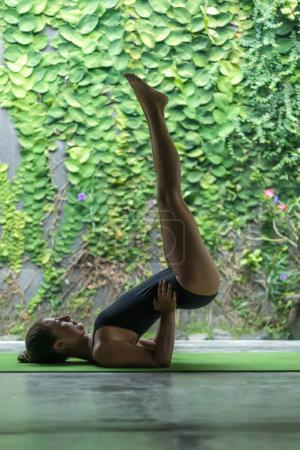 Supported Shoulder Stand pose