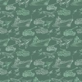 Vector Military Transport Pattern