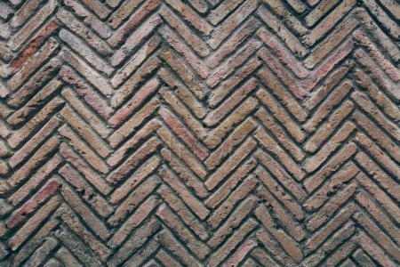 aged brick wall pattern for background
