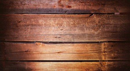 Photo pour Vue des vieilles planches de bois aiguisées - image libre de droit