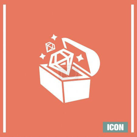 Treasure chest icon