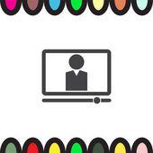 Computer study  icon