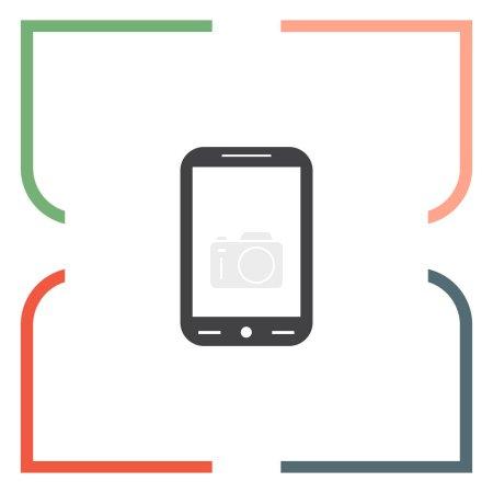 modern smartphone icon