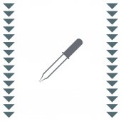 Pipette vector icon Eyedropper sign Droplet symbol