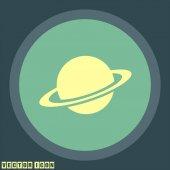planet  icon illustration