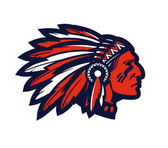 American native chief head mascot Vector logo or icon isolated on white background