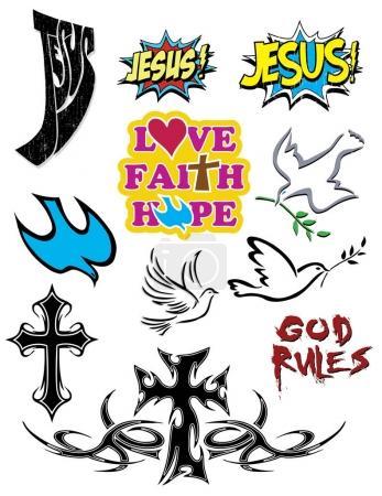 design of christian symbols