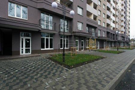Ukraine, Brovary 13 November 2017: new social housing