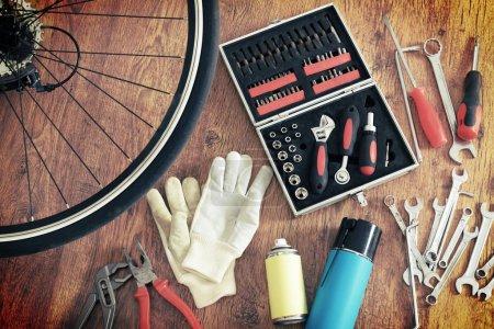 Concept of bike maintenance