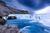 Gullfoss Waterfal Icelandic scenery