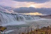 Faxi Waterfal Icelandic scenery