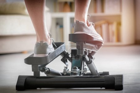 Exercises with stepper at home