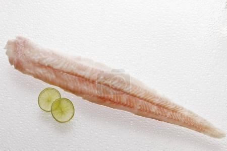 Fresh, raw Spined Loach filet