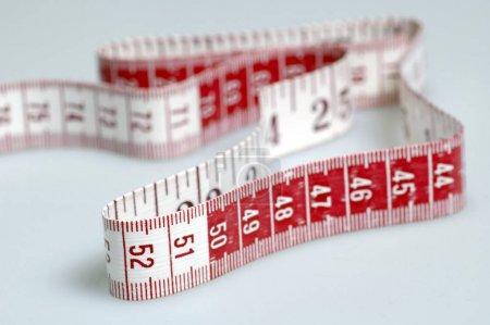 Measuring tape, metric tape measure for needlework, sewing work