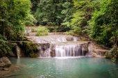 Erawan Waterfalls (Thailand) in Erawan National Park