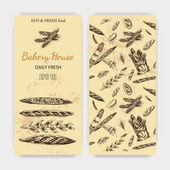 French bakery cards