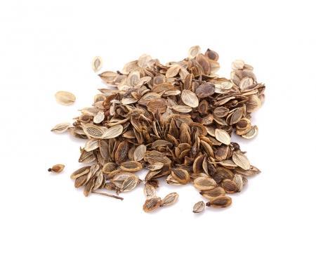 Closeup Dried Ma-khwaen Seeds (Zanthoxylum limonella) a Traditio