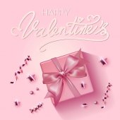 (illustration) happy valentines day greetings background