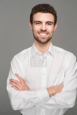 Photo for Portrait of a confident and casual businessman - Royalty Free Image