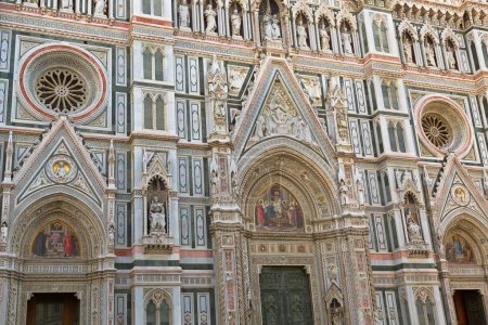 FLORENCE, ITALY - SEPTEMBER 2016 : Details of Jesu...