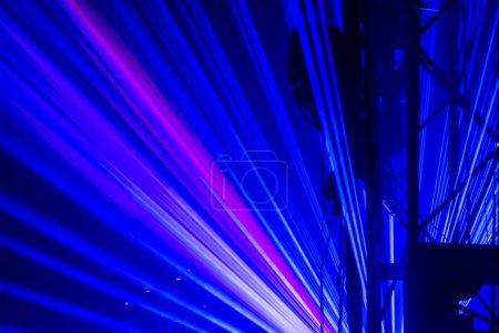 Night laser show