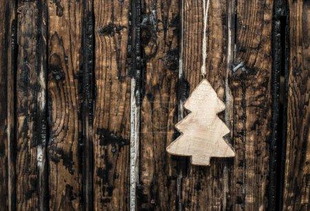 Fir wooden shape