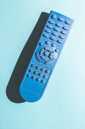 TV remote unicolor colored.