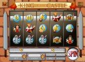 Spiel-Vorlage mit König und die Königin
