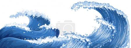 Big waves in the ocean