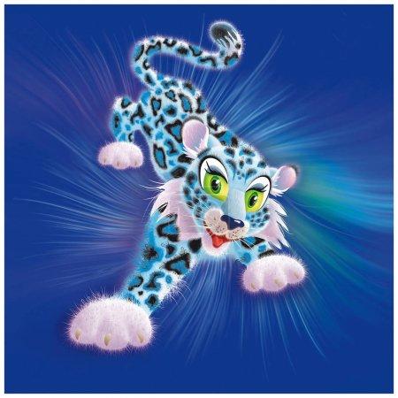 Пушистый леопард