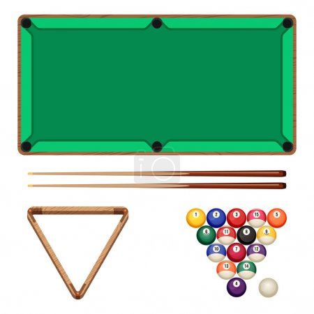 Snooker and pool gaming elements