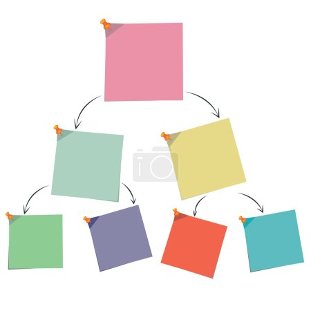 note paper chart, diagram