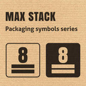 MAX STACK or WEIGHT STACKING LIMITATION