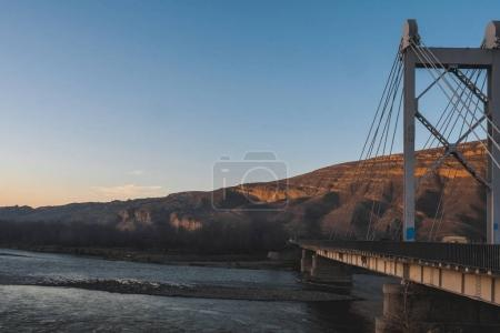 Photo for Scenic view of bridge and city in Georgia - Royalty Free Image