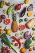 Постер фрукты и овощи