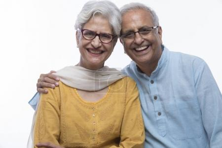 Photo for Portrait of senior couple - Royalty Free Image