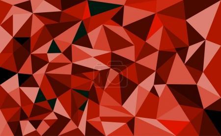 Ilustración de Geométrica de polígono de fondo. Fondo retro del triángulo. Patrón de mosaico colorido. Ilustración de vector - Imagen libre de derechos