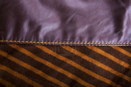 Foto de Textura de una tela de un trozo de tela. Close-up - Imagen libre de derechos