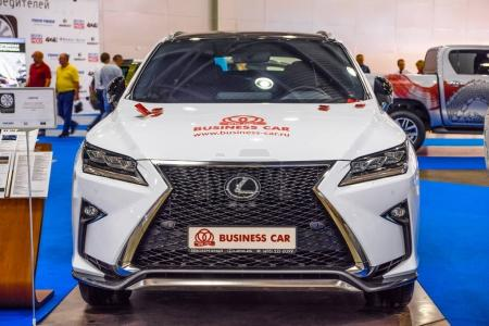 MOSCOW AUG 2016 Lexus RX
