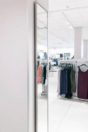 interior of fashion store