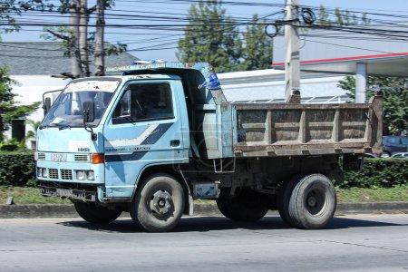 Private Old isuzu Dump Truck
