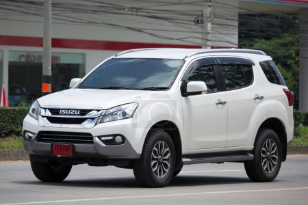 Private SUV car Isuzu Mu