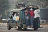 Постер Зеленый пикап Чианг такси грузовик
