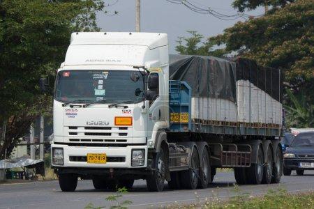 Isuzu Trailer Cargo Truck