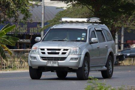 Private Suv car Isuzu Mu7