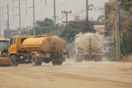 Chiangmai, Thailand -  April 5 2020:  Water Tank T...