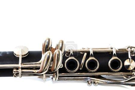 Photo pour Instruments de musique d'orchestre isolés sur fond blanc - image libre de droit